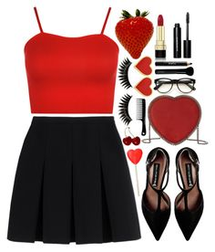 """Sweet Valentine"" by tinasxx ❤ liked on Polyvore featuring WearAll, Alexander Wang, Steve Madden, Dolce&Gabbana, Bobbi Brown Cosmetics, STELLA McCARTNEY, Noir Cosmetics, Givenchy, Wildfox and Boohoo"