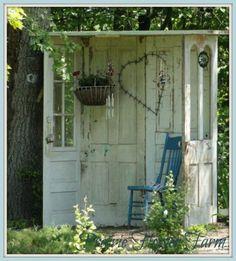 ideeën voor in de tuin - Zo'n hoekje zou ik graag willen in mijn tuin, love it!!