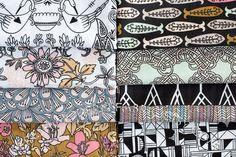 Miscellany by Julia Rothman, Cloud9 Fabrics.