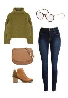 Suchen Sie nach einem stylischen Outfit für eine Nacht in der Stadt? Jeans mit hoher Taille, ein kurzer Pullover und Ihre treue Rodenstock Brille - und schon haben Sie den Durchblick und sehen großartig aus.