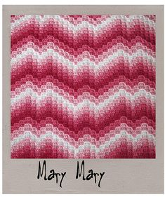Ravelry: Mary Mary pattern by Laura Pavy