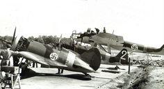 Polikarpov I-16, Morane Saulnier MS 406 & Heinkel He 115 of the Finnish Air…
