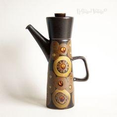 Vinatge Retro 1960s/70s DENBY ARABESQUE Coffee Pot Gill Pemberton - FREE UK P&P in Pottery, Porcelain & Glass, Pottery,…