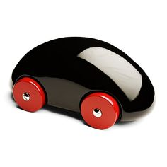 Playsam Wooden Streamliner Car - Black from Little Baby Company