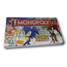 Sonic The Hedgehog Edition Factory SEALED Monopoly Brand New