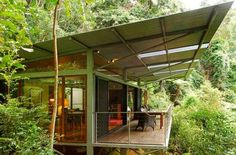 Crystal Creek Glass Terrace Bungalow - Tweed Valley, NSW   View Retreats #romanticgetaway