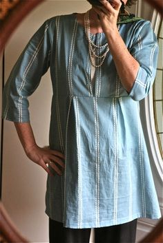 Schoolhouse tunic - pattern on etsy