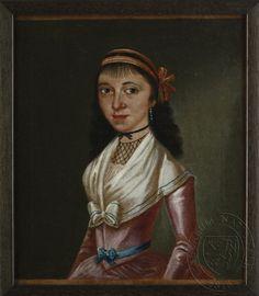 18th century portrait, unknown, Národní muzeum