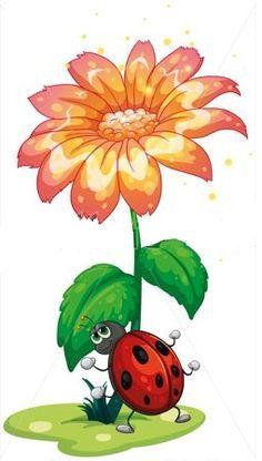 Planse de colorat si fise pentru copii: aprilie 2014 Lame, Images, Illustration, Plants, Giant Flowers, Insects, Artist, Drawings, Illustrations