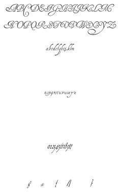 HenryMorganHand Sample- Font Squirrel