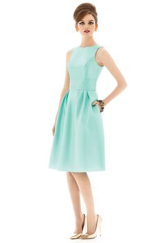 Green bridesmaid dresses for your girls Dessy