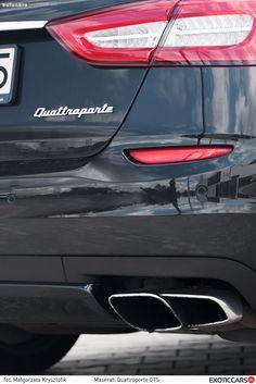 Quattroporte GTS: http://exoticcars.pl/testy/maserati-quattroporte-gts/