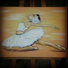 #ballerin #oil #canvas #painting