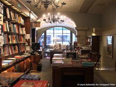 Our ten favorite bookstores in Manhattan, from the breathtaking Rizzoli to the booze-friendly Housing Works Bookstore Cafe, to the secret, speakeasy-esque Brazenhead.