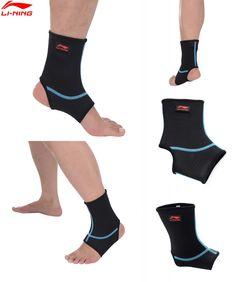 [Visit to Buy] Li-Ning Sport Ankle Support 65% Neoprene & 35% Nylon Sportswear Accessories AQAH138 ZYF120 #Advertisement