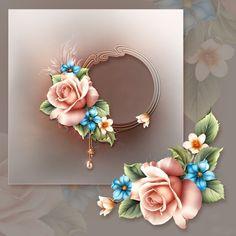 """Moonbeam's ~ """"Summer Roses"""" ~ moonbeam1212."""