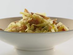Pumpkin, Penne and Cabbage recipe from Rachael Ray via Food Network