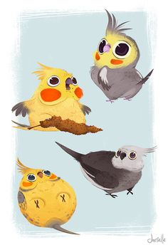 Silly Animals by Danielle Brown, via Behance