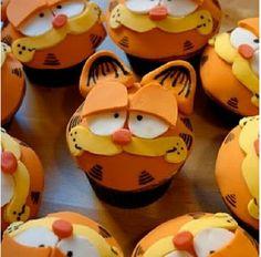 Garfield cupcakes <3