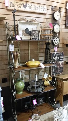 All kinds of accents for the home in Booth 512 @ Hunt and Burrow Mercantile