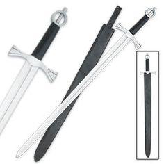 Traditional Medieval Irish Long Sword w/ Scabbard