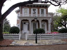 Richards-DAR (Italianate) Mansion 1860 - Mobile, Alabama -  this is the site of our Wedding Reception - 7/7/84!