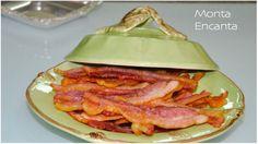 Bacon Sequinho e Crocante, fatias de bacon finas e crocantes se faz no micro em minutos sem sujeira e sem gordura