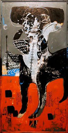 "Saatchi Art Artist: Rusudan Khizanishvili ; Acrylic 2014 Painting ""Envoy 2"""