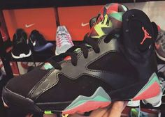 Marvin the Martian...like these.
