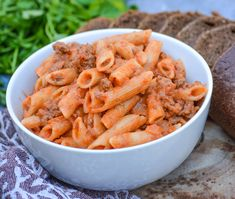 Penne alla vodka with ground beef is the grown up, homemade version of Hamburger Helper. This delicious pasta takes pasta with vodka sauce and adds ground beef for a hearty comforting dish with minimal fuss. This cozy dish makes the perfect cold weather dinner. Growing up, I loved Hamburger Helper. It just screams childhood comfort … Homemade Vodka Sauce, Vodka Sauce Pasta, Penne Alla Vodka, Sauce Recipes, Pasta Recipes, Cooking Recipes, One Pot Spaghetti, Creamy Tomato Sauce, Hamburger Helper