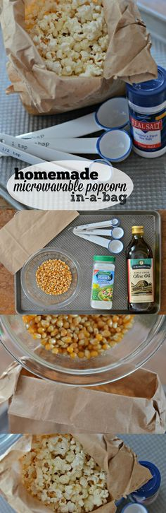 Who doesn't love fresh popcorn? Make movie night more fun with this homemade microwavable popcorn in a bag with ranch.