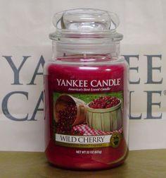 YANKEE CANDLE  Wild Cherry. #YankeeCandles#RelaxingRituals