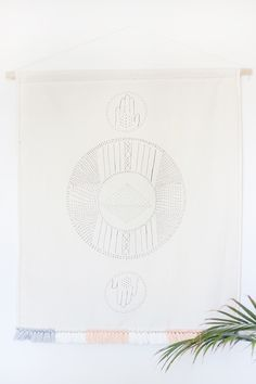 Bohemian-Inspired Wall Hanging | Hello Lidy for Curbly