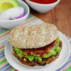Chipotle Quinoa and Black Bean Burgers Recipe by MALLYBILLS via @SparkPeople