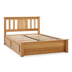 Limelight Vesta Oak Two Drawer Bed Frame Bedroom Bed Design, Modern Sectional, Soft Furnishings, Bed Frame, Mattress, Drawers, Delivery, Furniture, Home Decor