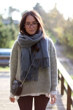 how to wear a scarf 15 best outfits