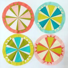 scandi windmill blocks by Kaity Cole