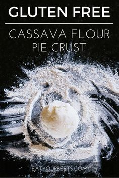 Perfect for vegan or paleo diets! Gluten free cassava flour pie crust recipe. Make dessert awesome! Full instructions with images!