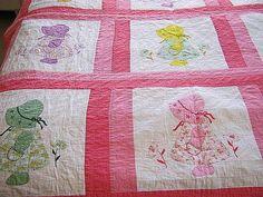 Vintage Pink SUNBONNET SUE