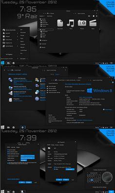 Dark Gray Windows 8 Theme Gray8 Wallpaper Best