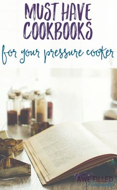 So you have an instant pot or are looking for one. How do you decide what to fix first? Which cookbook is best? I am sharing my top picks with all of you!