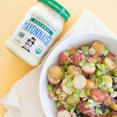This easy-to-make potato salad by Sir Kensington's makes the perfect addition to your next bbq!