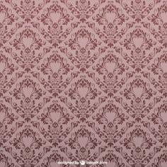 Teste padrão floral do vintage design sem costura