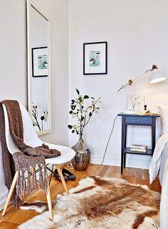 Jurnal de design interior - Amenajări interioare : Stil scandinav într-o garsonieră de 39 m²