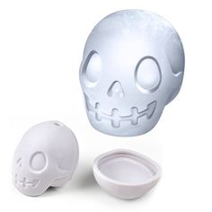 Chiller FRED 3D Skull Silicone Ice Cube Ball Mold