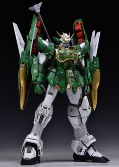 MG Altron Gundam EW - Customized Build Modeled by Ein Schlafe Gundam Toys, Gundam Art, Number Art, Gundam Mobile Suit, Arte Robot, Gundam Custom Build, Gundam Wing, Gunpla Custom, Custom Paint Jobs