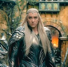 Lee Pace as Thranduil in The Hobbit Trilogies