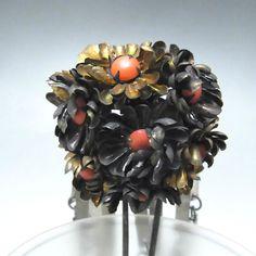 Antique Japanese Hairpin BIRA KANZASHI for sale