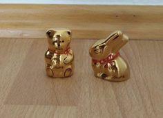 Villeroy & Boch Lindt Goldhase und Teddybär Porzellan Goldauflage | Antiquitäten & Kunst, Porzellan & Keramik, Keramik | eBay! Lindt, Villeroy, Gold, Ornaments, Ebay, Hare, Christmas Decorations, Embellishments, Ornament