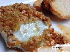 Un aperitivo rápido y sencillo de preparar ,y que está realmente bueno. La mezcla del queso azul con las almendras es fantástica y el...